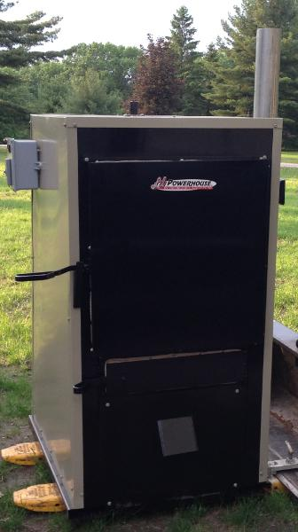 Outdoor Wood Hydronic Heater or Outdoor Wood Furnace